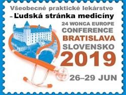24.konferenciu WONCA EUROPE organizuje SSVPL V BRATISLAVE 26-29 jún 2019!