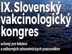 IX.Slovenský vakcinologický kongres